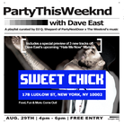 #PartyThisWeeknd Freestyle