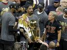 Watch The Cleveland Cavaliers Celebrate Their NBA Championship In Las Vegas