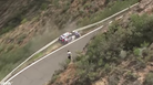 Czech Rally Car Driver Almost Drives Off Cliff