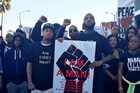 """Game, Tyga & DJ Mustard Take Part In """"Millions March Los Angeles"""""""