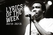 Lyrics Of The Week: July 19-25