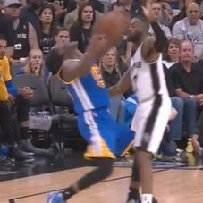 All Gregg Popovich Could Do Was Laugh At Draymond Green's Latest Flop