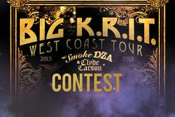 Big K.R.I.T. West Coast Tour Ticket Giveaway!