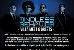 Mindless Behavior VIP Meet and Greet