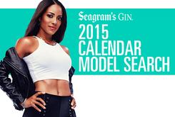 HNHH Presents Seagram Gin's 2015 Calendar Model Search
