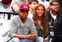 Jay Z, Beyonce & Drake Sit Courtside At Friday Nights Raptors Vs. Nets Playoff Game