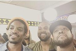 Kanye West Hangs With Outkast, 2 Chainz & More At Atlanta Waffle House