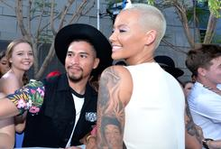 Amber Rose Covered Her Wiz Khalifa Tattoo With A Sleeve Of Roses