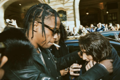 """Travi$ Scott Gives His Chain To A Young Fan With """"Rodeo"""" Tattoo"""
