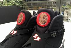 "Someone Made A ""Crying Jordan"" Custom Air Jordan 8"