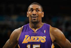 Metta World Peace Files Restraining Order Against Lunatic Female Stalker