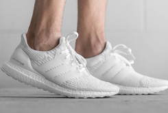 """Introducing The """"Triple White"""" Adidas Ultra Boost 3.0"""