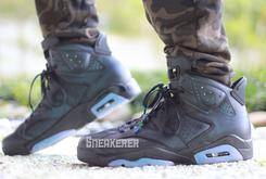 "Check Out These On-Foot Images Of The ""Chameleon"" Air Jordan 6"