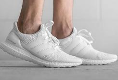"Adidas Ultra Boost 3.0 ""Triple White"" Launches Today"