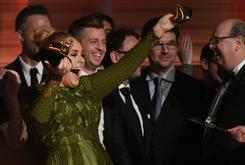 Adele Broke Her Grammy In Half To Share With Beyonce