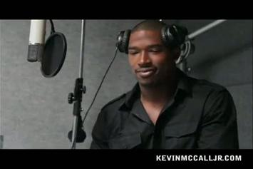 "Kevin McCall ""In The Studio (Explains How To Write A Song From a Woman's Point Of View)"" Video"