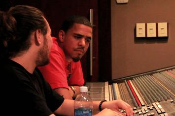 "J. Cole ""In The Studio: The Making Of ""Cole World: The Sideline Story"""" Video"