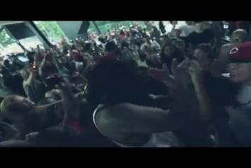 "Waka Flocka Feat. B.o.B. ""Fist Pump"" Video"