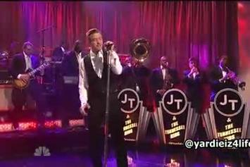 "Justin Timberlake ""Mirrors (SNL Performance)"" Video"