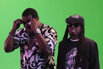 """Busta Rhymes' BTS For """"Thank You"""" Feat. Lil Wayne, Q-Tip & Kanye West"""