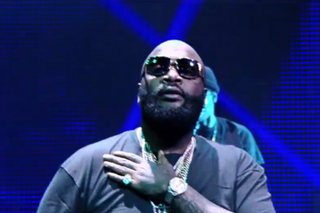 """Rick Ross Performs """"Nobody"""" Live On Le Grand Journal"""