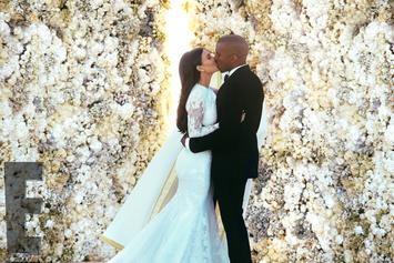 Official Wedding Photos Of Kanye West & Kim Kardashian Released