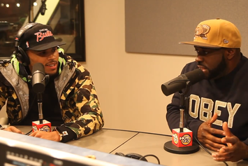 Chris Brown Talks Drake & Tyga Situation