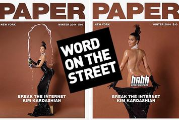 Word On The Street: Kim Kardashian's Ass