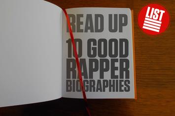 Read Up: 10 Good Rapper Biographies