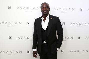 "Akon Drops Five New Songs Off Five-Disc Album ""Stadium"""