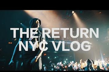 "Meek Mill's ""NYC 2015 (The Return)"" Vlog"