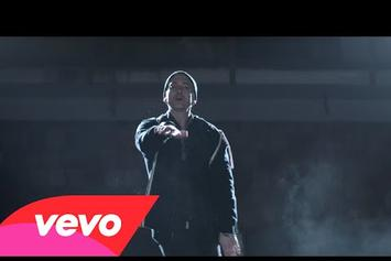 "Eminem Feat. Sia ""Guts Over Fear"" Video"