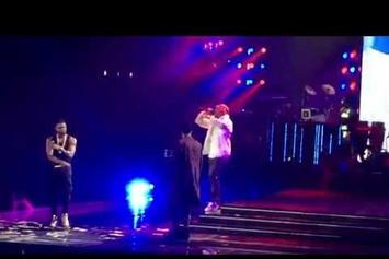 Usher Brings Out Chris Brown & August Alsina In L.A.