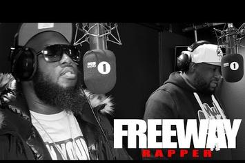"""Freeway & Tha Jacka """"Fire In The Booth"""" Freestyle"""