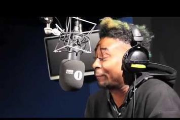 "Danny Brown ""Fire In the Booth Freestyle"" Video"