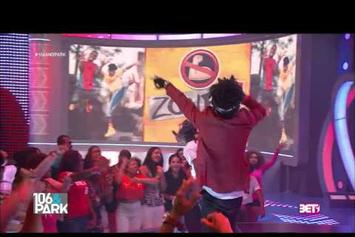 "Rae Sremmurd Performs ""No Flex Zone"" Live On 106 & Park"