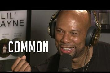 Common Interview & Freestyle On Ebro In The Morning Show