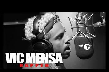 "Vic Mensa ""Fire In The Booth"" Freestyle Video"