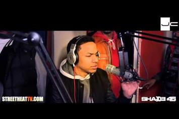 Cory Gunz & Euro Freestyle On Streetsweeper Radio