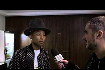 "Pharrell Explains ""G I R L"" Album Title"