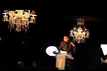 J. Cole Honors Nas In Speech For Vibe