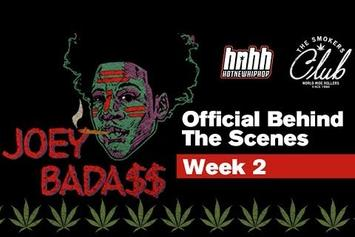 Joey Bada$$ Takes Us On The Smokers Club Tour (Behind-The-Scenes) Episode 2