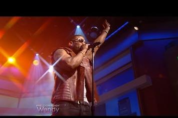 "Nelly Performs ""Rick James"" On Wendy"