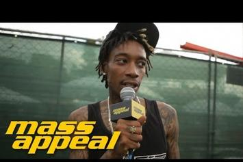 "Wiz Khalifa Talks ""Blacc Hollywood"""