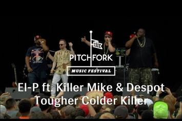 """El-P Feat. Killer Mike & Despot """"Performs """"Cancer For Cure"""" Live """" Video"""