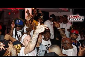 "Birdman Feat. Lil Wayne, Juvenile & More """"Rich Gang"" Album Release Party In NYC"" Video"