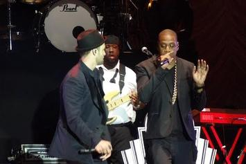 """Justin Timberlake Feat. Jay-Z """"Suit & Tie (Live @ Wireless Festival)"""" Video"""