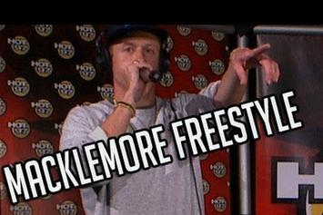 "Macklemore ""Real Late Sessions Freestyle"" Video"