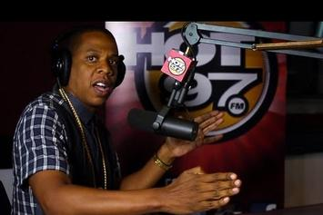 """Jay-Z """"Speaks On Dame Dash, Texting Obama & More With Angie Martinez"""" Video"""
