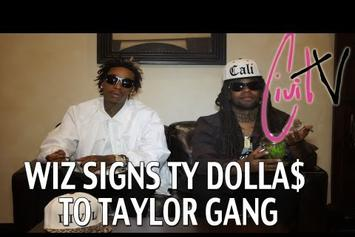 """Wiz  Khalifa Feat. Ty Dolla $ign """"Signs Ty Dolla $ign To Taylor Gang"""" Video"""